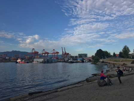 Crab Park 2 アイ・カナダ留学サポート