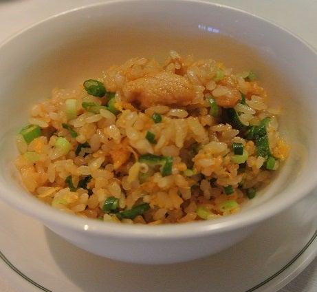 琥珀宮 ウニの濃厚炒飯