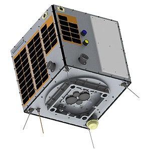 ウェザーニューズ北極海海氷観測衛星WNISAT-1R