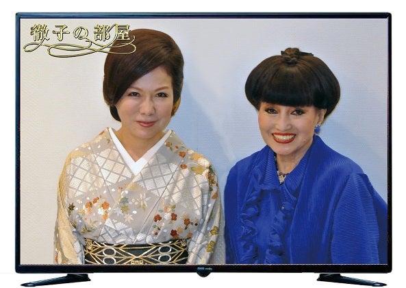 2017年8月1日 徹子の部屋 出演 由美ママ&黒柳徹子さん