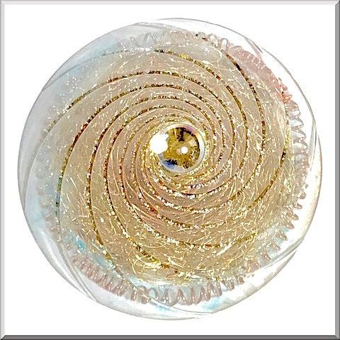 オルゴナイト 円錐型 スモーキークォーツ アロマ 氣