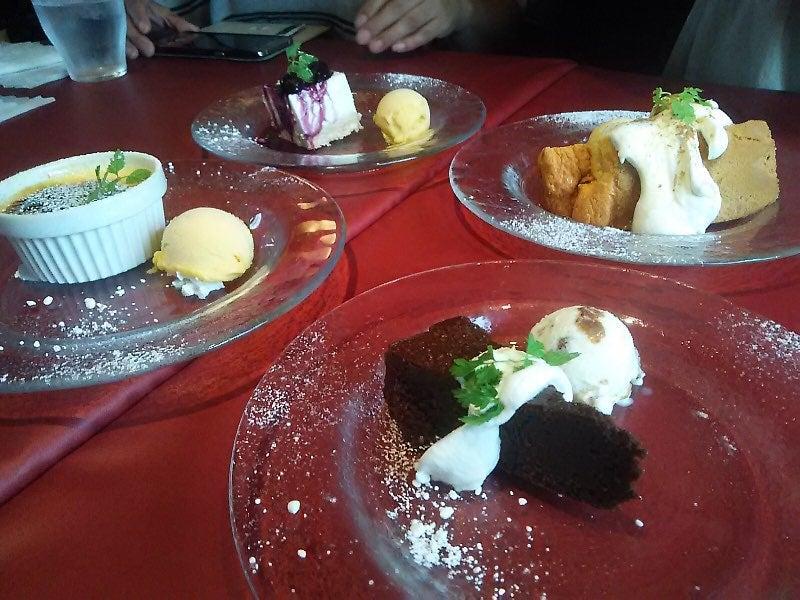 それぞれのケーキ