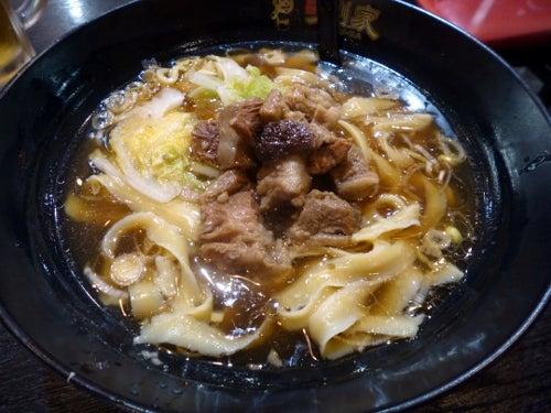 劉家5西安紅焼牛肉刀削麺