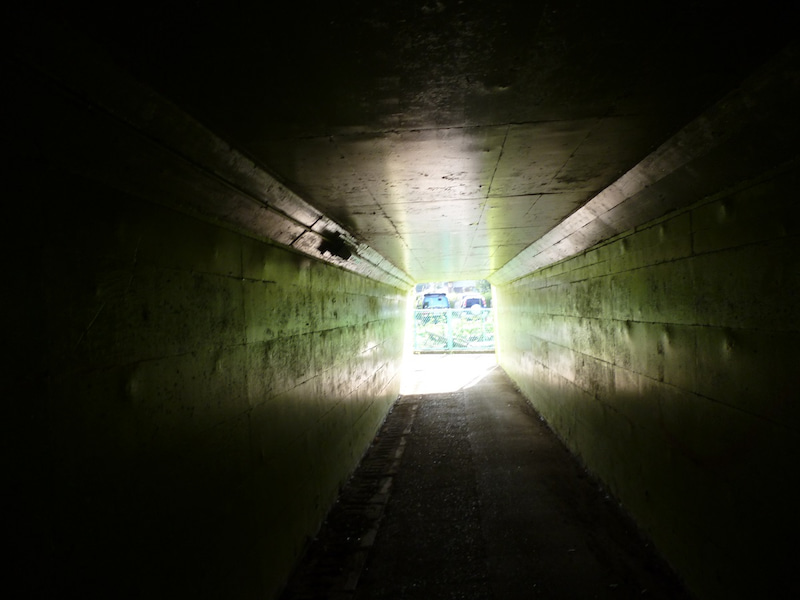 侍トンネル