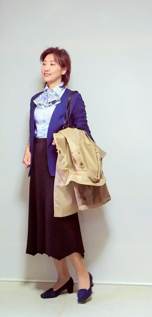 40代 ファッション 学校行事冬