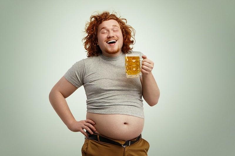 ビール腹 妊婦