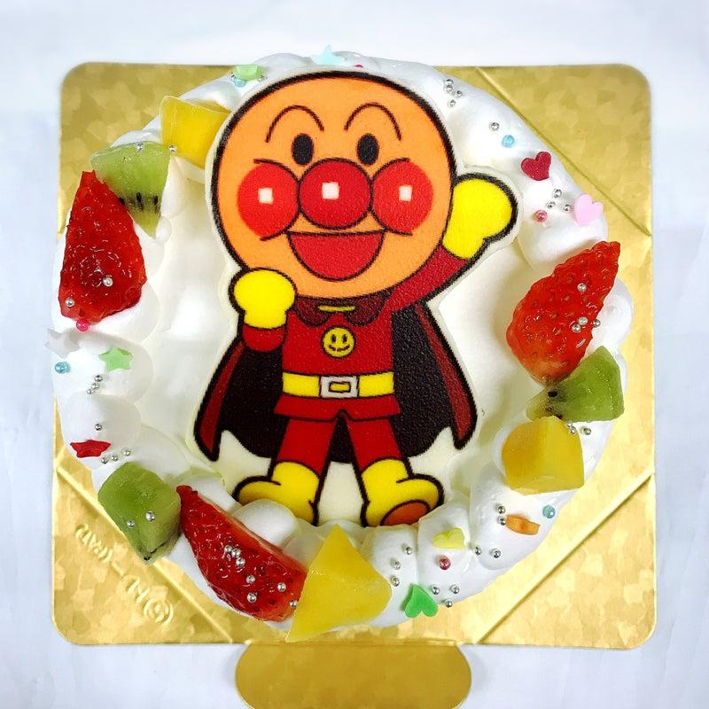 アンパンマン ケーキ レシピ