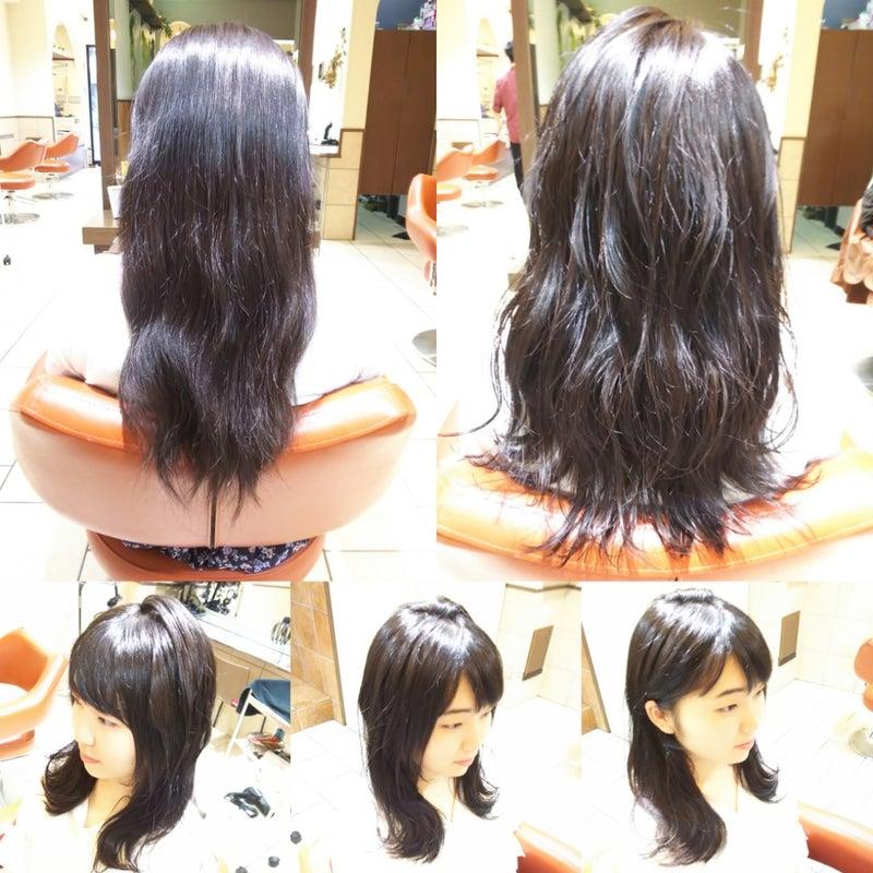 つゆりかなを 髪型