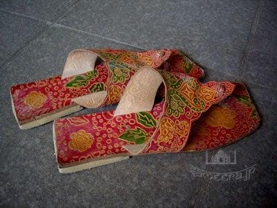 インドのサンダル