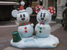 雪だるまミキミニ