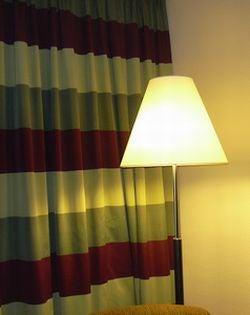 四つ星ホテルのカーテン