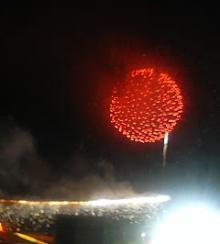 調布の花火