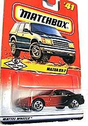 MATCHBOX RX-7