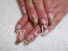 Pure SalonのBeautyブログ-ゴールドグラデ