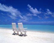 青い空海岸