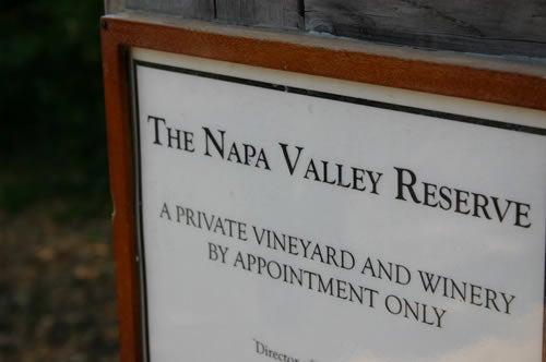 【ワイナリー】 The Napa Valley Reserve (SFO)
