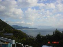 富士山見えません