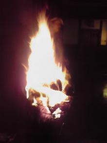 鞍馬火祭り篝火