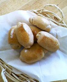パンができたよ