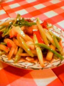 カナー菜炒め