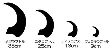 川崎悟司 オフィシャルブログ 古世界の住人 Powered by Ameba-ドロマエオサウルス類の爪の大きさ比較