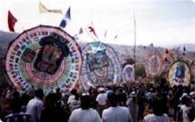 サンチアゴの大凧