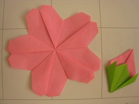 簡単 折り紙:折り紙 4月-ameblo.jp