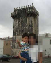 主塔は古い
