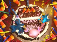 5歳バースディケーキ