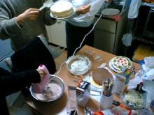 ケーキ製作2