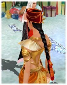 Tomoko @ Cabal  アメブロ支部-チョゴリの髪飾り