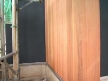 三軒茶屋の家外壁-1