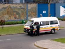 atrapado con un policia
