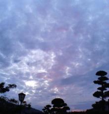 ゆうやけ雲