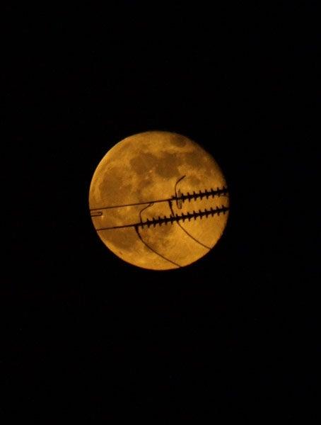 満月ハロウィンバージョン