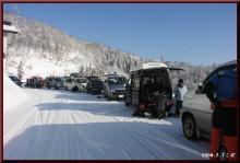 ロフトで綴る山と山スキー-温井集落