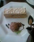 デザートも濃厚でした