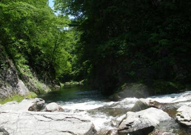 秋保の滝の先