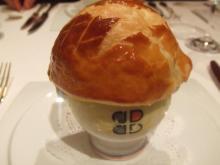 V.G.E.に捧げたトリュフのスープ