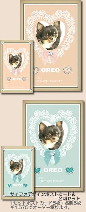 Eri's style weblogⅡ-サイファデザイン ポストカード・名刺セット