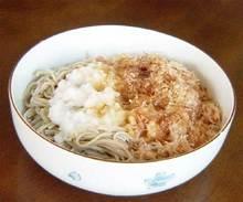 蕎麦カツオ