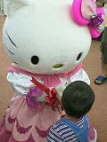 キティちゃんと握手♪