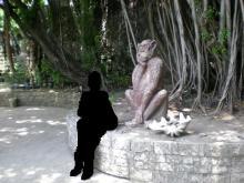 みごとな猿像