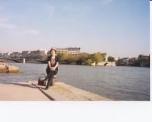セーヌ河畔で