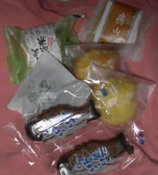 米沢お菓子たち
