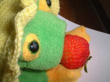 ケロwイチゴ かぶりつき