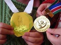 金メダル!!
