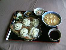 孟宗汁と絹麺