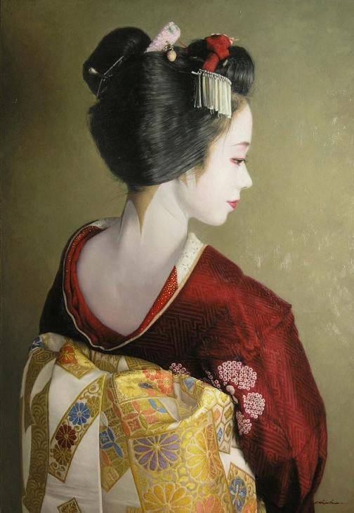 ハスキルが好き 画家中上誠章のブログ-粧
