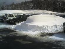 埋まった車